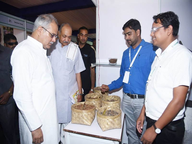 क्रेता-विक्रेता सम्मेलन में बोले CM भूपेश, पारंपरिक फसलों को बनाएंगे ग्लोबल उत्पाद