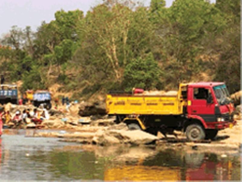 मध्यप्रदेश में अवैध खनन जोरों पर, 'सोना' बनी अवैध रेत
