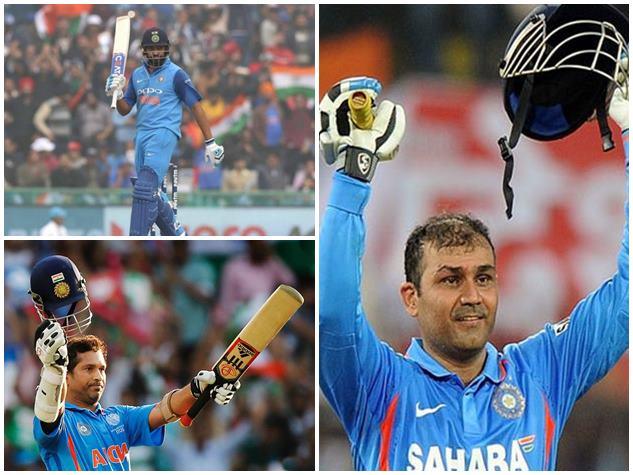 रोहित ही नहीं इन बल्लेबाजों ने भी वनडे में लगाए हैं दोहरे शतक