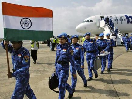 Image result for Indian Peace Keeping Force reconstruction of runway done in South Sudan