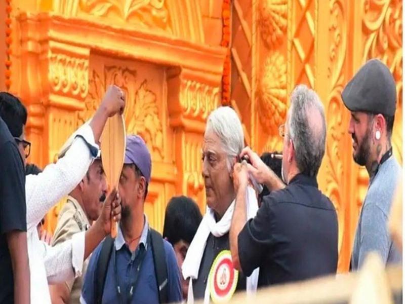 Indian 2 : भोपाल में इंडियन 2 की शूटिंग शुरू, Kamal Haasan का लुक हुआ लीक