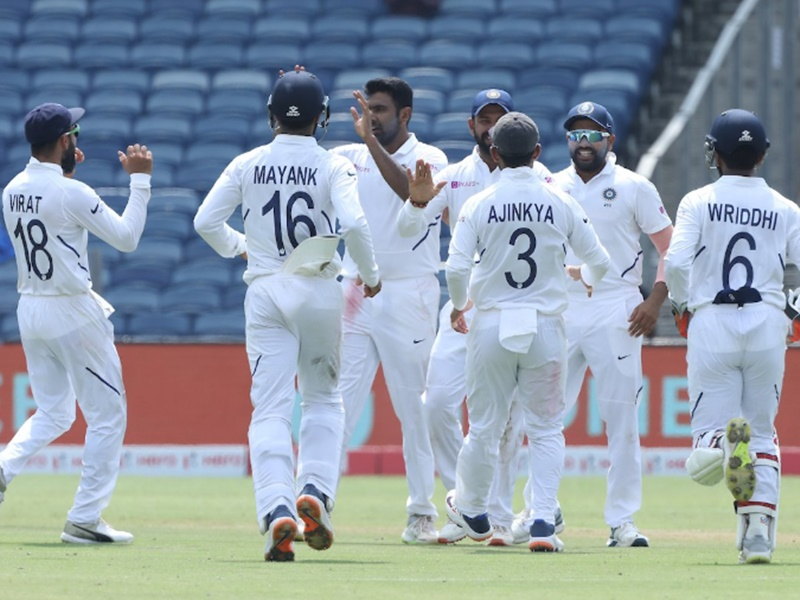 India vs South Africa 2nd Test: पुणे टेस्ट में भारत ने द. अफ्रीका को पारी और 137 रन से हराया