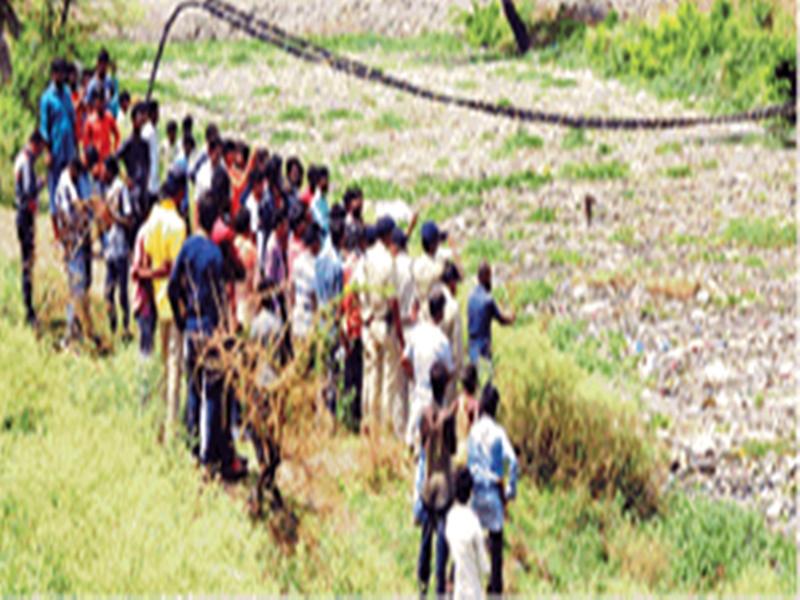 Indore Crime : तीन दिन से गायब नगर निगम के बाबू की लाश खान नदी में मिली