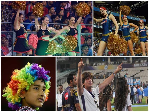 चीयरलीडर्स, फैन और सेलेब्स, कुछ ऐसी है IPL 2018 की रंगीनियत