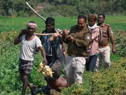मानवता शर्मसार: पुलिस बांस पर टांगकर लाई लाश, साले ने इसलिए जीजा को मार डाला