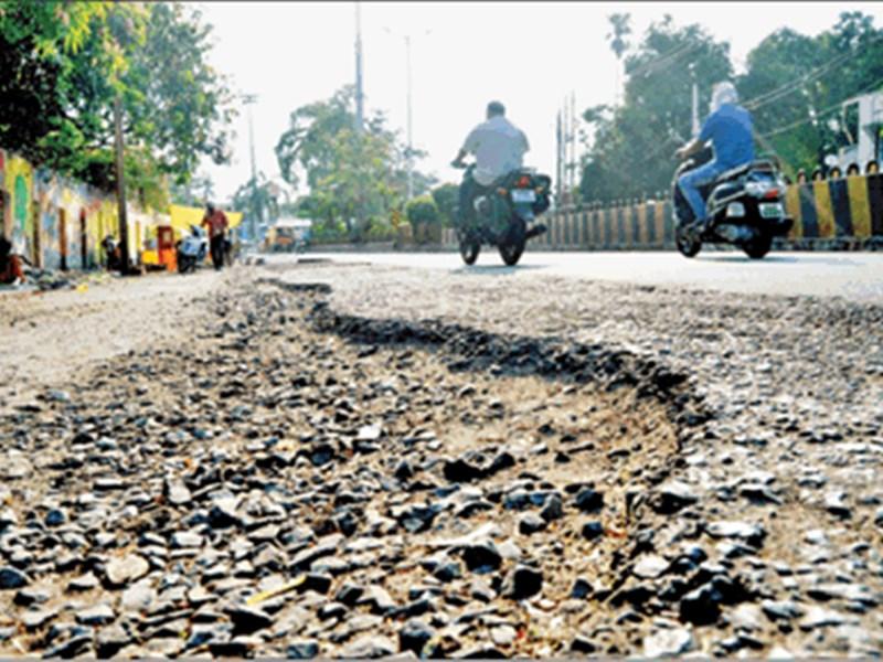Jabalpur News : 20 साल में बढ़े 8 लाख वाहन, 40 साल में मेजर और सर्विस रोड नहीं बना सके