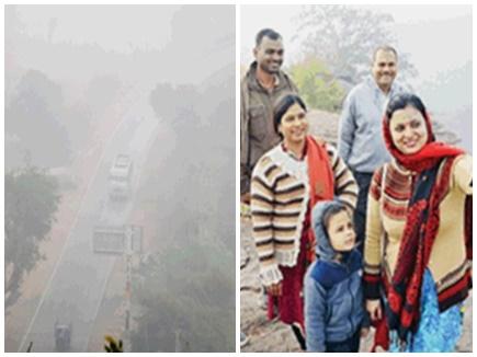 Cold Wave in MP: अहमदाबाद की फ्लाइट वाराणसी डायवर्ट, 5 डिग्री गिरा पारा