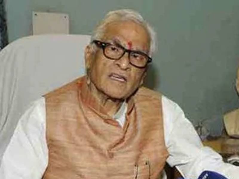 बिहार के पूर्व मुख्यमंत्री जगन्नाथ मिश्र का निधन, लंबे समय से थे बीमार