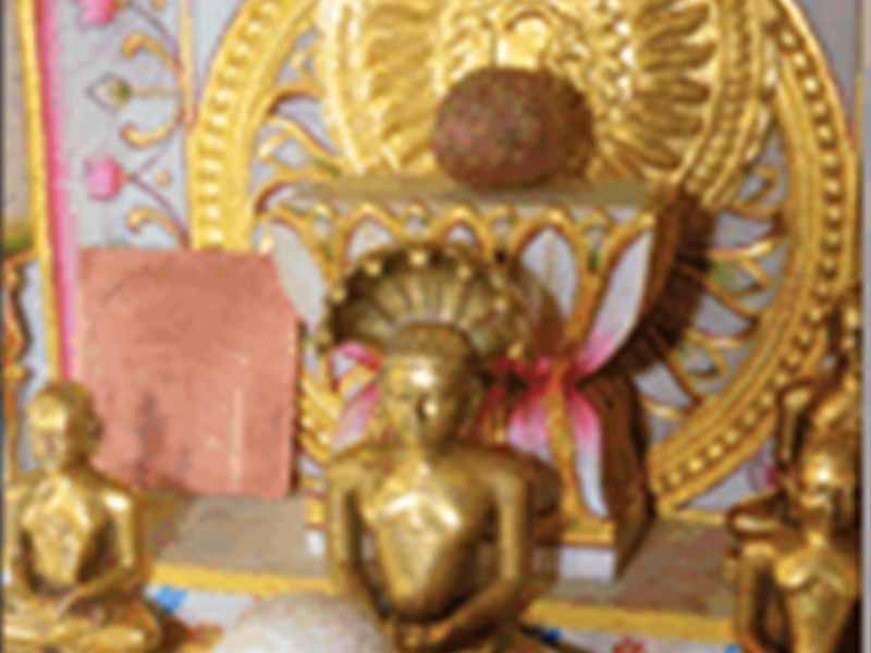 अष्टधातु की 250 साल पुरानी पार्श्वनाथ की मूर्ति सहित जैन मंदिर से 3 मूर्तियां चोरी