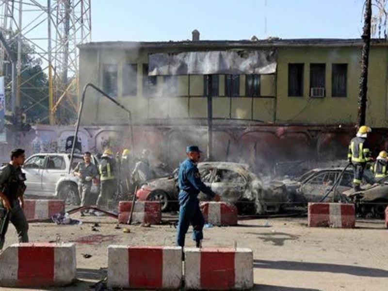 जलालाबाद में हुए दस धमाकों में 66 लोग घायल, कई कार्यक्रम हुए स्थगित