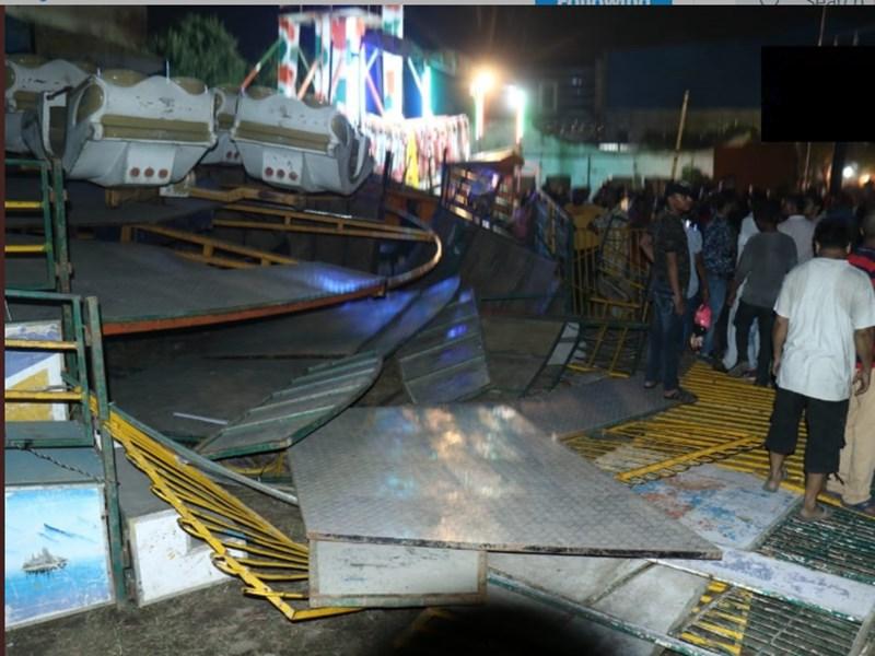 पंजाब के जालंधर में ज्वॉय राइड के दौरान गिरा झूला, 3 बच्चे घायल