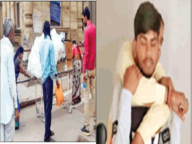 Gwalior Jayarogya Hospital: स्ट्रेचर पर ढोई जा रहीं दवाइयां, व्हील चेयर तक मौजूद नहीं