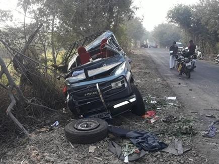 महाराष्ट्रः सड़क हादसे में पांच पहलवानों समेत 6 की मौत
