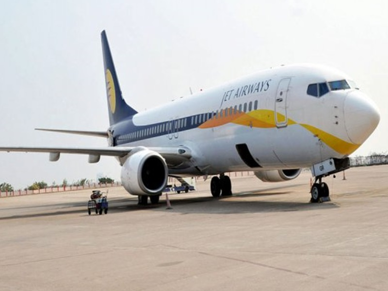 Jet Airways जेट एयरवेज के बंद होने से दूसरी विमानन कंपनियों को 4,800 करोड़ का रिकार्ड लाभ