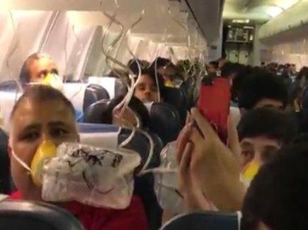 VIDEO : जेट की फ्लाइट में यात्रियों के नाक, कान से बहने लगा खून, सरकार ने लिया संज्ञान