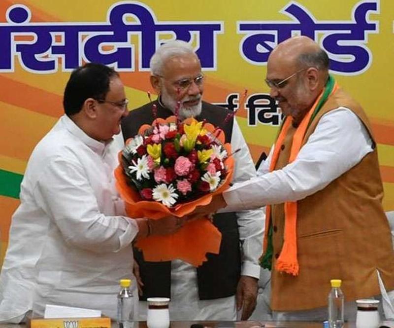 जेपी नड्डा बने BJP के कार्यकारी अध्यक्ष, संसदीय बोर्ड की बैठक में हुआ तय