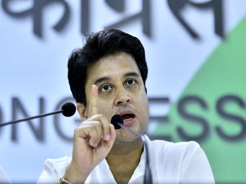 Jyotiraditya Scindia का कांग्रेस को आत्मचिंतन का सुझाव, पार्टी में हलचल