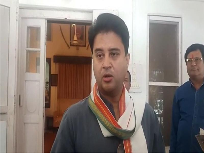 VIDEO : हार पर फिर छलका सिंधिया का दर्द, शिवपुरी में बोले- चुनाव नतीजे से दिल को चोट पहुंचीं