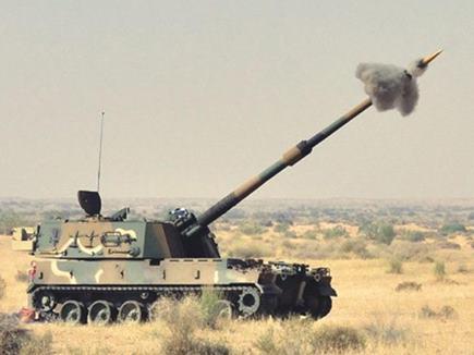 सेना की हॉवित्जर तोप 'के-9 वज्र-टी' ने 50 किमी दूर भेदा लक्ष्य