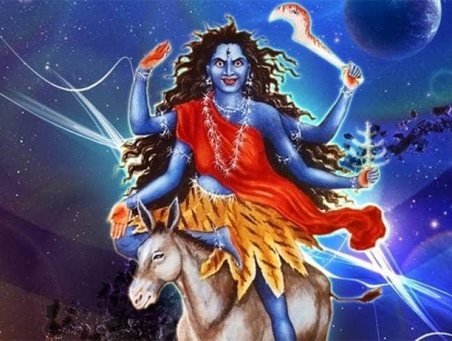 Navratri 2019 Day 7 : भयानक स्वरूप वाली देवी कालरात्रि देती है अभय का वर