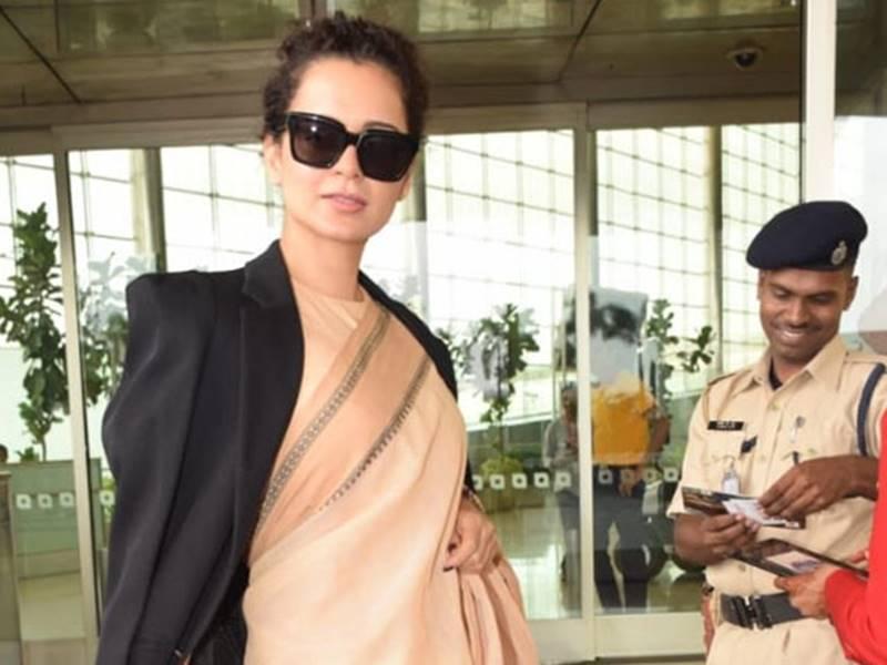 Kangana Ranaut ने पहनी 600 रुपए की साड़ी तो रंगोली ने कही यह बात