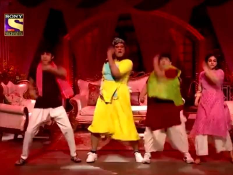 The Kapil Sharma Show : कपिल की टीम ने भी दे दिया Bala Challenge, जमकर नाचे