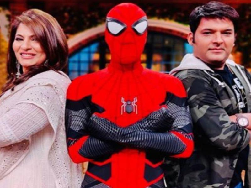 स्पाइडर मैन के साथ नजर आए कपिल शर्मा, Viral Photo पर कमेंट कर फैंस पूछ रहे हैं ये सवाल
