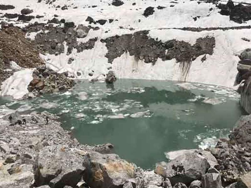 केदारनाथ के ऊपर बनी झील का पता लगाने वैज्ञानिक दल पहुंचा, दो दिन में देगा रिपोर्ट