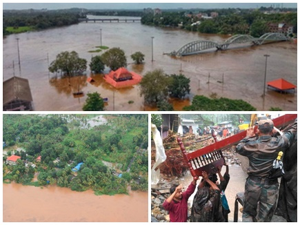 देखिए तस्वीरें: केरल में बारिश और बाढ़ से 26 की मौत, NDRF की दस टीमें तैनात