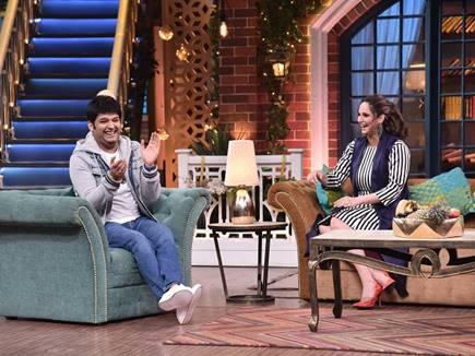 सानिया मिर्जा ने बिरयानी के बर्तन मांग लिए कपिल शर्मा से