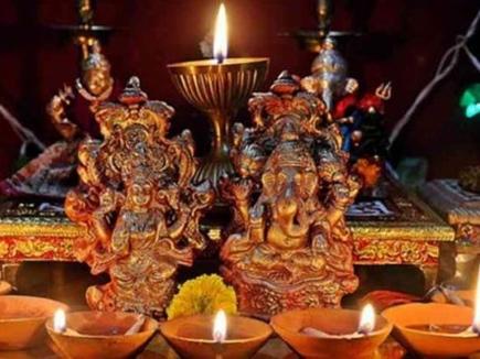 Happy diwali 2018 दिवाली पर लक्ष्मी पूजन के लिए यह है शुभ मुहूर्त
