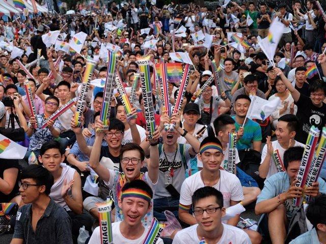 ताइवान बना पहला एशियाई देश, जहां समलैंगिक विवाह को संसद ने दी मंजूरी