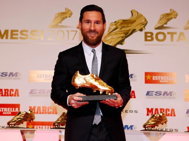 European Golden Shoe Award : लियोनेल मैसी ने छठा यूरोपियन गोल्डन शू अवॉर्ड जीता, देखें Video
