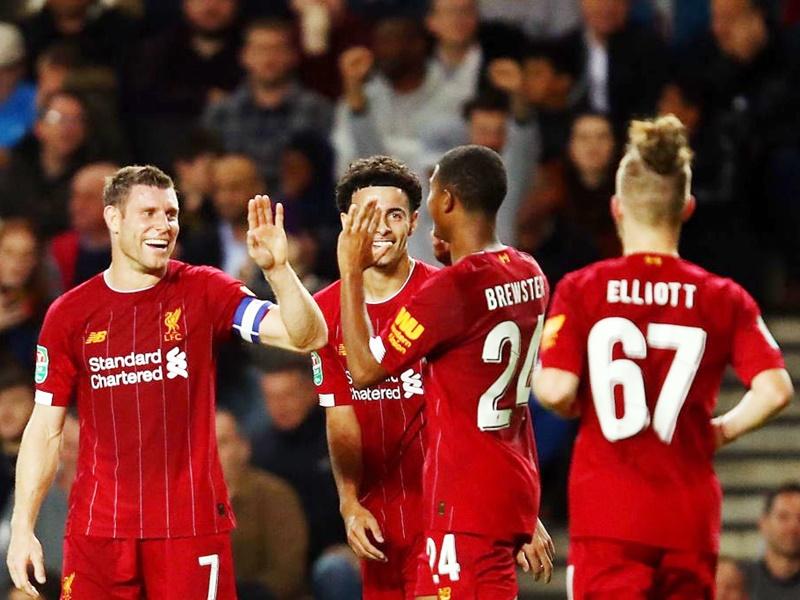 Liverpool register easy win: लिवरपूल की लीग कप में एमके डॉस पर आसान जीत