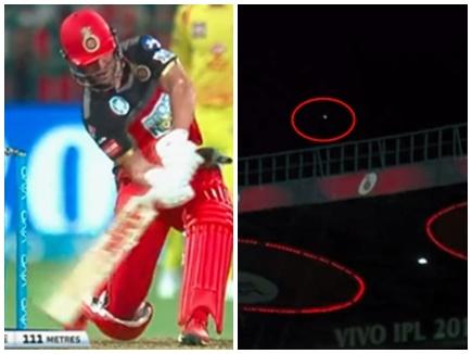 VIDEO: डीविलियर्स ने मारा इस IPL का सबसे लंबा छक्का, इतनी दूर गई गेंद
