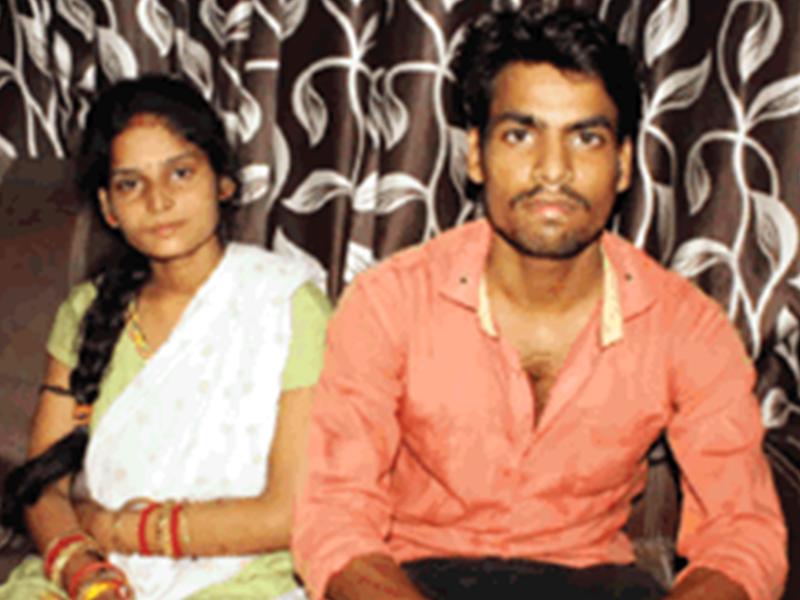 Bhind News : प्रेमी के साथ रचाई शादी तो परिजन ने दी जान से मारने की धमकी