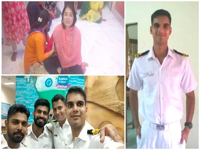 Image result for नौसेना में लेफ्टिनेंट कमांडर धर्मेंद्रसिंह चौहान शहीद