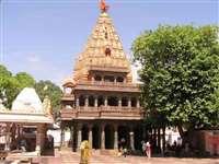 महाकाल मंदिर में लगे पत्थर की मजबूती जांचने के लिए आया दल