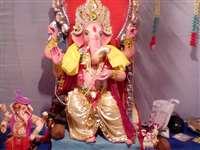 बिलासपुर 1 : मूषक पर विराजित हैं भगवान श्रीगणेश