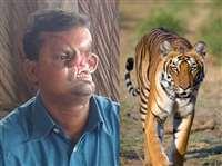 20 साल पहले इस शख्स पर किया था बाघ ने हमला, अब तक छुपा रहे हैं चेहरा