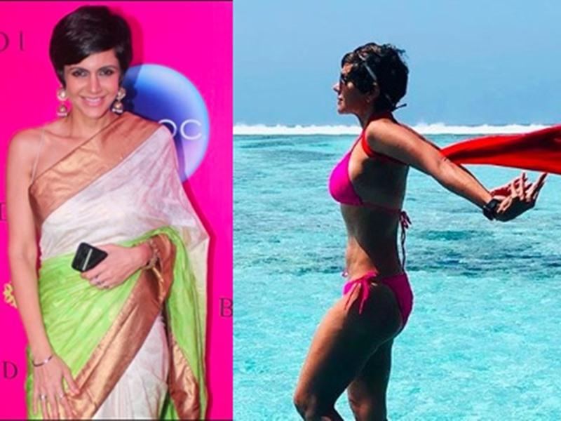 Mandira Bedi Bikini Pic: मालदीव्स की छुट्टियों को इस तरह याद किया मंदिरा बेदी ने