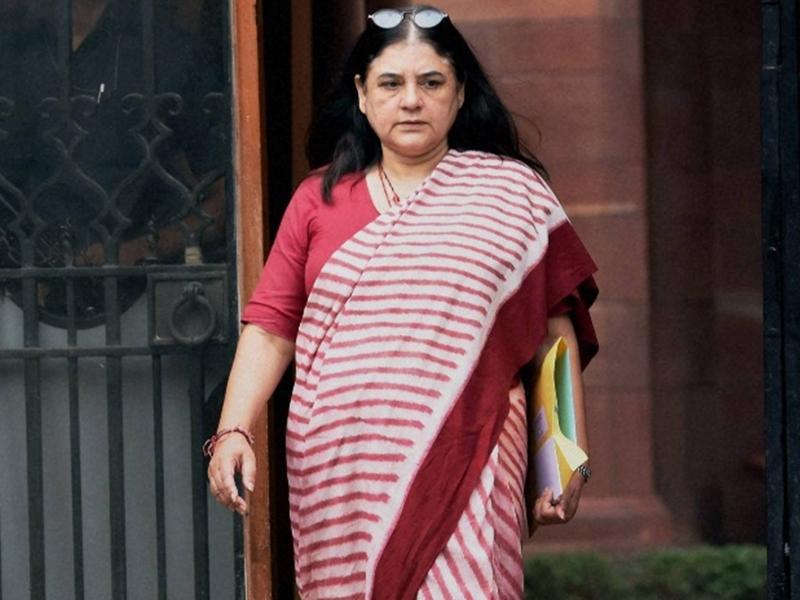 सुल्तानपुर में बोलीं मेनका गांधी - मुझसे बड़ा बाहुबली कोई नहीं