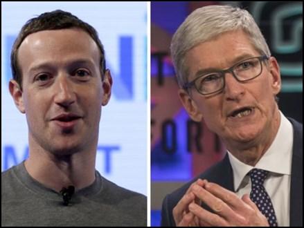 FB डाटा लीक : Apple CEO पर मार्क जकरबर्ग का पलटवार