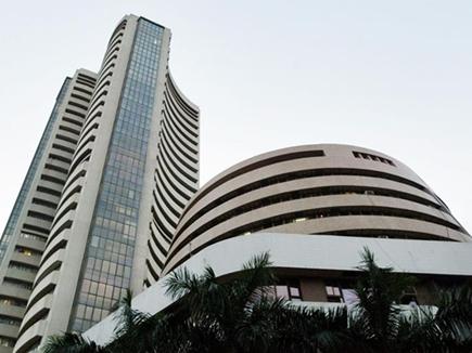 शेयर बाजार में गिरावट का दौरा जारी, सेंसेक्स 287 अंक गिरकर बंद
