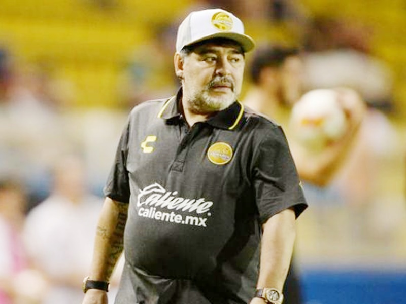 मेराडोना ने मैक्सिकन क्लब छोड़ा, ये रही वजह