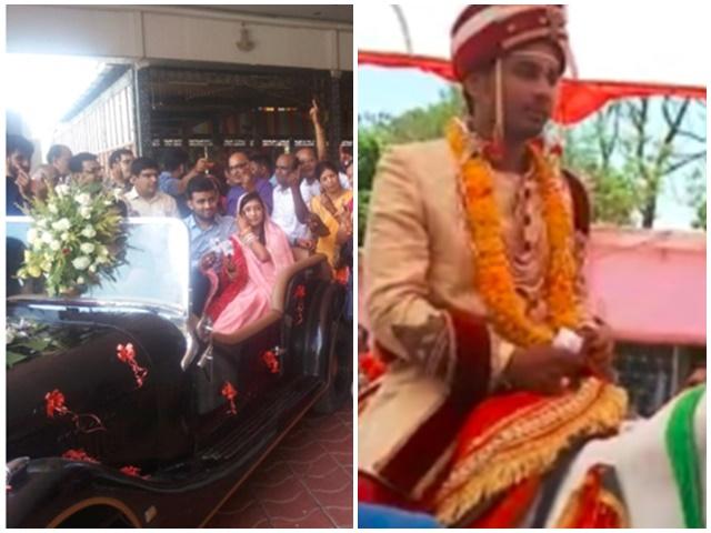 Madhya Pradesh 7th Phase Polling : कहीं विटेंज कार, तो कहीं घोड़े पर सवार वोट डालने पहुंचे