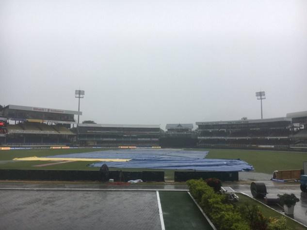 बारिश ने बिगाड़ा मजा, पूरा नहीं हो सका भारत-विंडीज का पहला वनडे