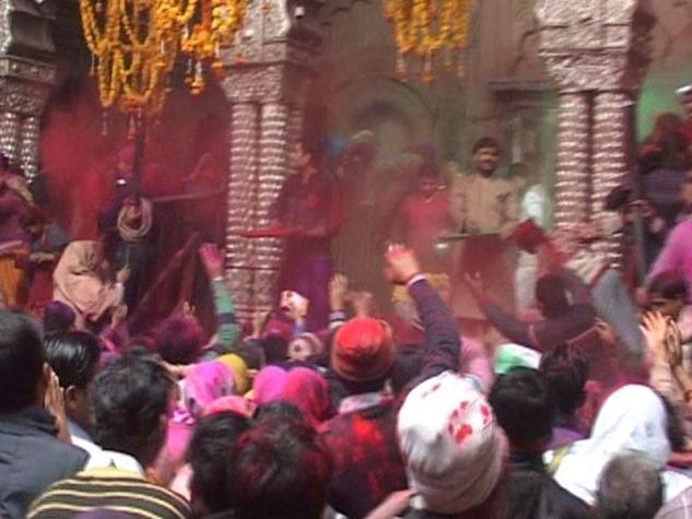 बसंत पंचमी के साथ शुरू हुआ मथुरा में होली का 40 दिवसीय त्योहार