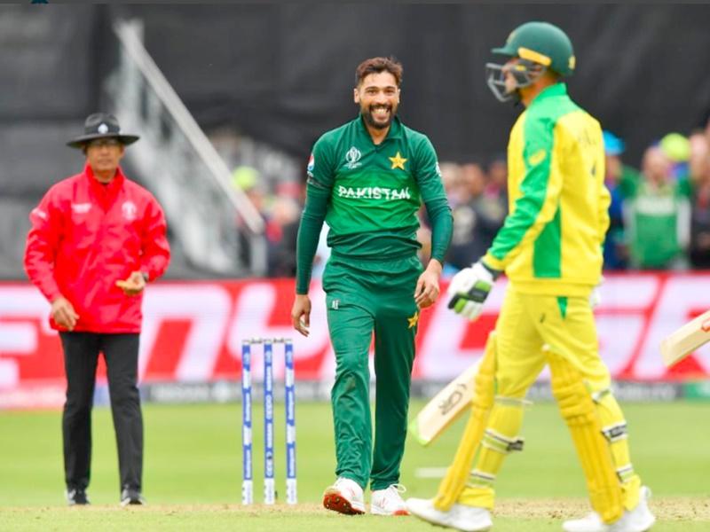 Video World Cup Cricket 2019: मोहम्मद आमिर ने पाई ये खास उपलब्धि