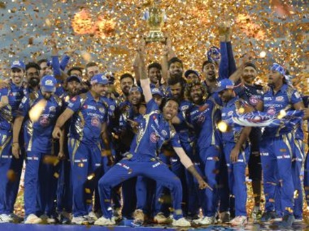 IPL 2017: मुंबई इंडियंस ने पुणे को 1 रन से हराया, तीसरी बार बना IPL चैंपियन